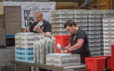 RekWup : les gobelets réutilisables et réutilisés